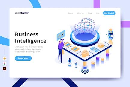 Business Intelligence - Landing Page