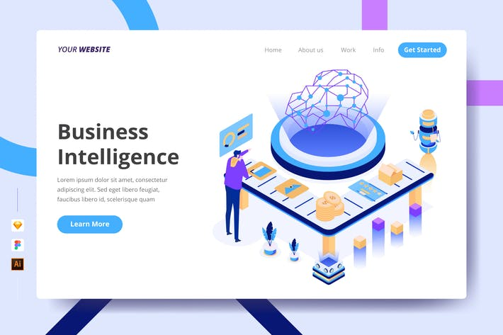 Thumbnail for Business Intelligence - Landing Page