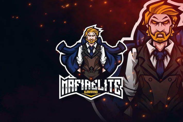 Thumbnail for Mafia Elite Esport Logo Template