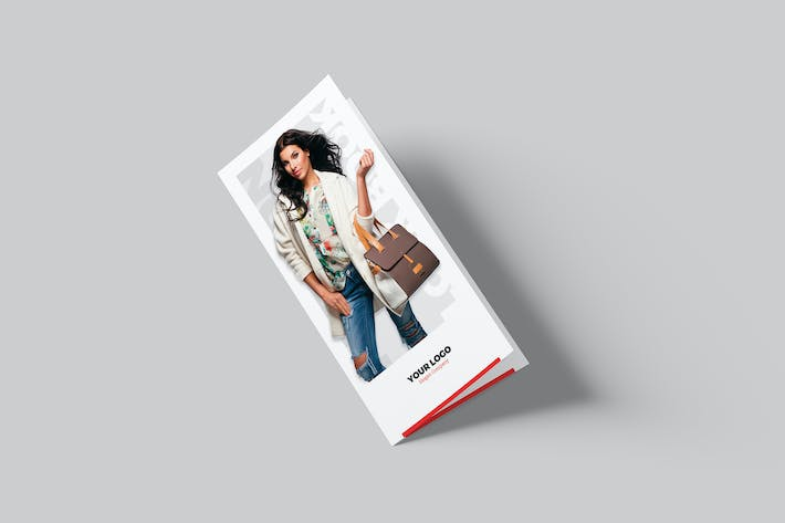 Thumbnail for Brochure – Fashion Look Book Bi-Fold DL