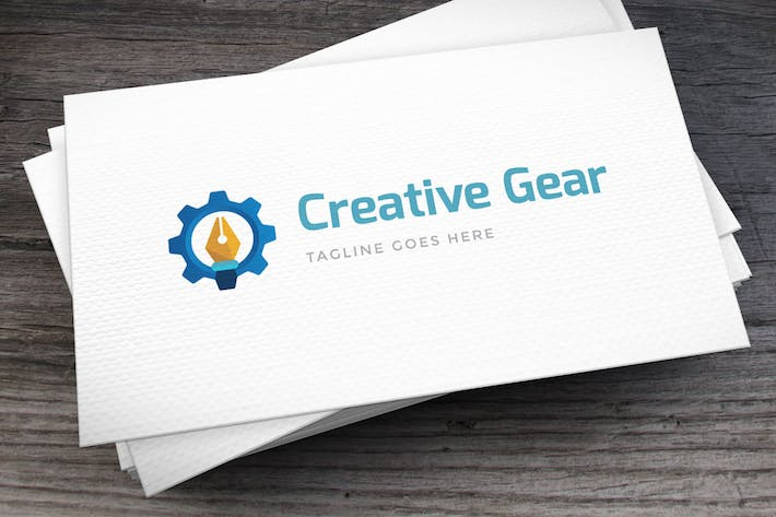 Thumbnail for Creative Gear Logo Template