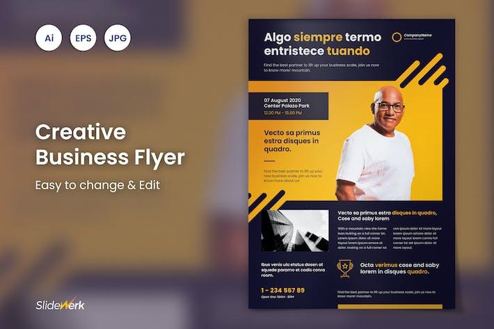 Thumbnail for Cretive Business Flyer 36 - Slidewerk