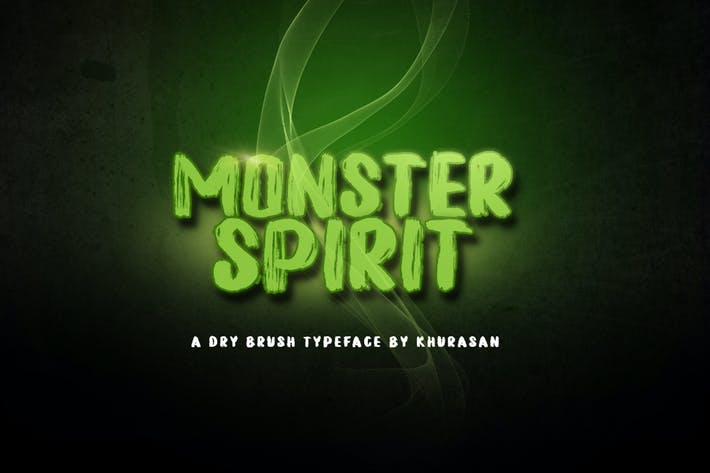 Thumbnail for Monster Spirit Font