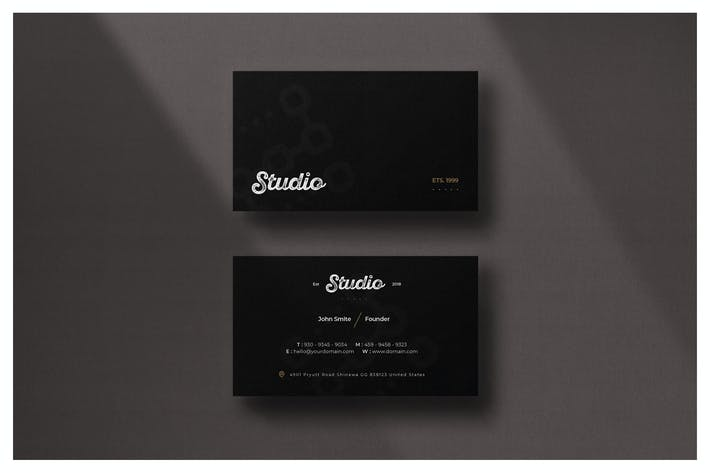 Thumbnail for Minimal Business Card - Vol.5