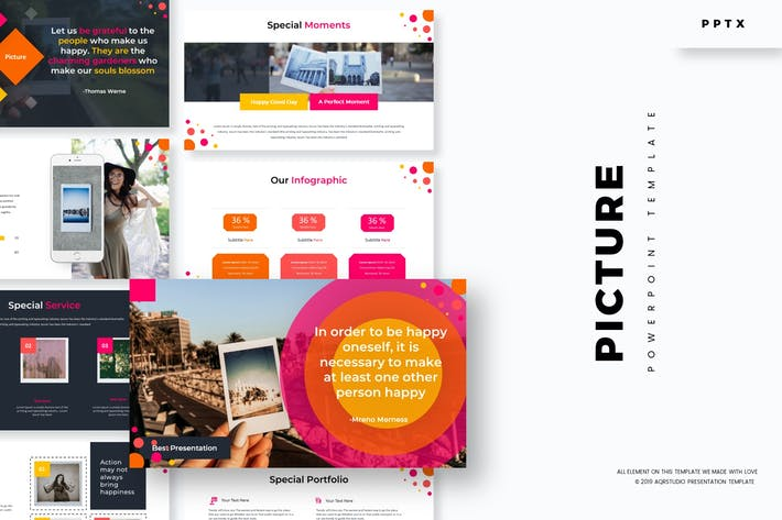 Thumbnail for Picture - Powerpoint Template
