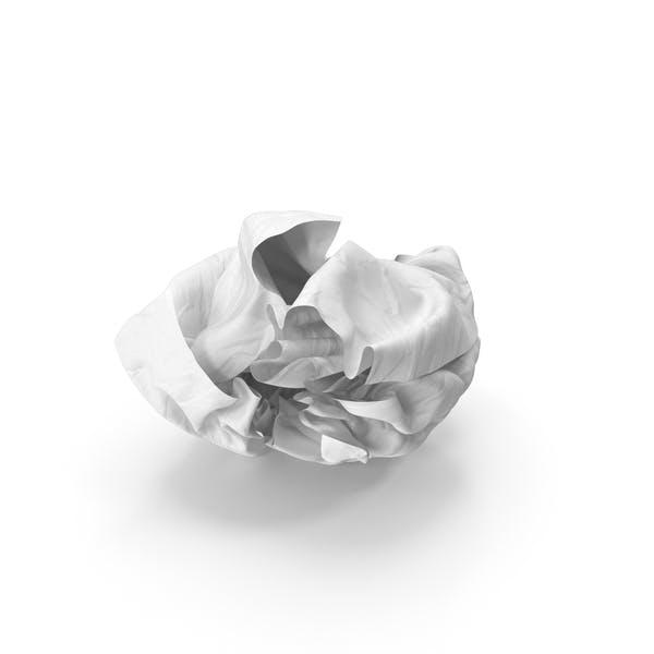 Crumpled Paper Clear