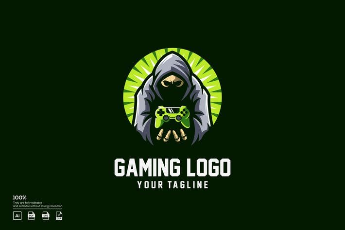 Thumbnail for gaming logo design