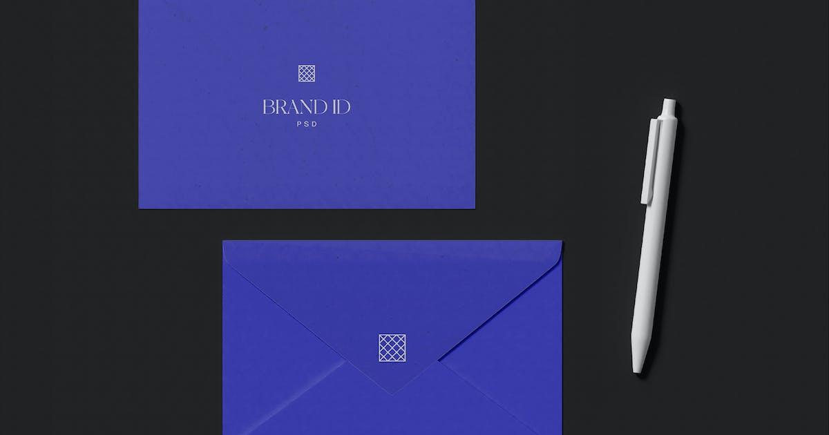 Download Two Envelope Mockup by megostudio