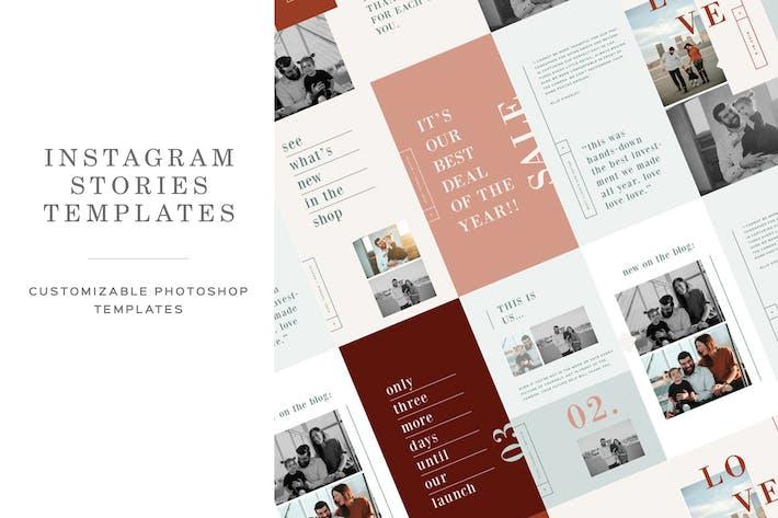 Thumbnail for Photographer Instagram Stories Templates