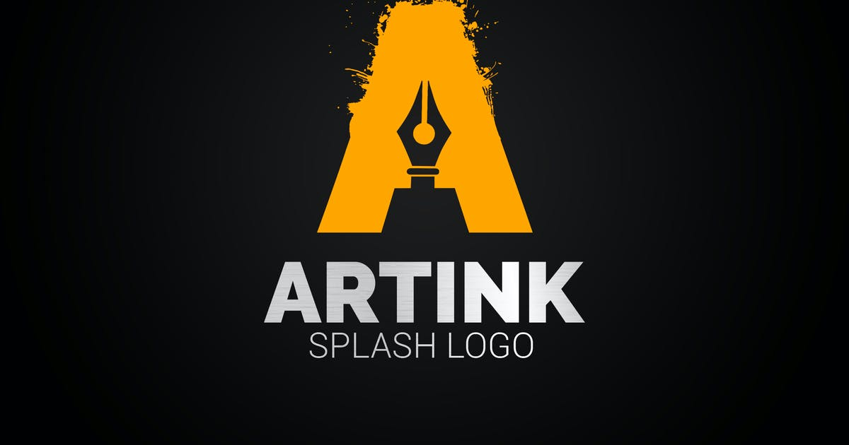 Download A Ink Stylo Plume Logo by SmartDesigns_eu