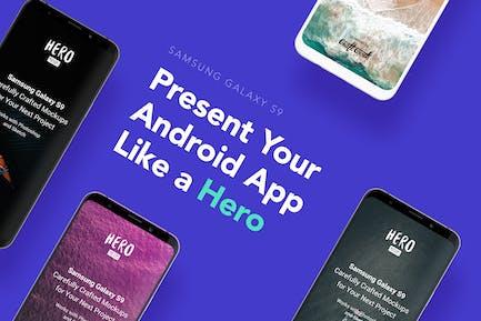 HERO Galaxy S9 Mockups