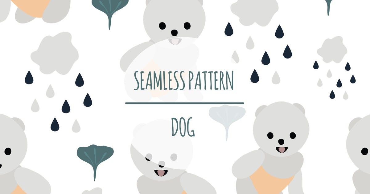 Download Dog – Seamless Pattern by designesto