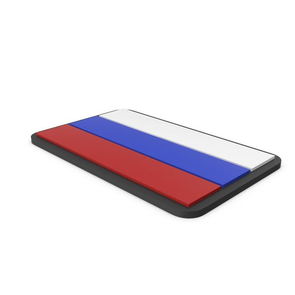 Flag of Russia PVC Patch