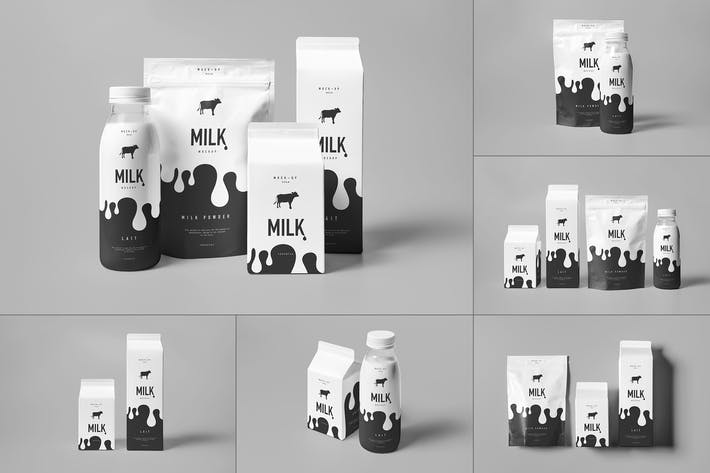Cover Image For Milk Mock-up