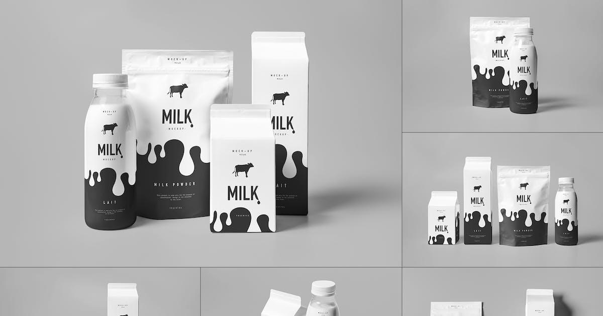 Download Milk Mock-up by yogurt86