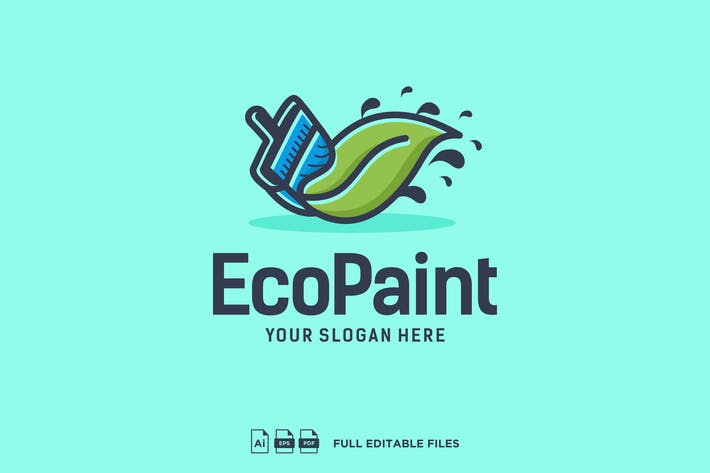 Thumbnail for Paint Logo Design v.PW09