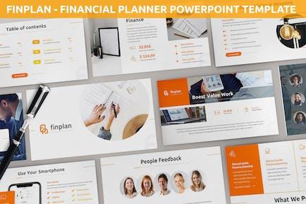 Finplan - Financial Planner Powerpoint Template