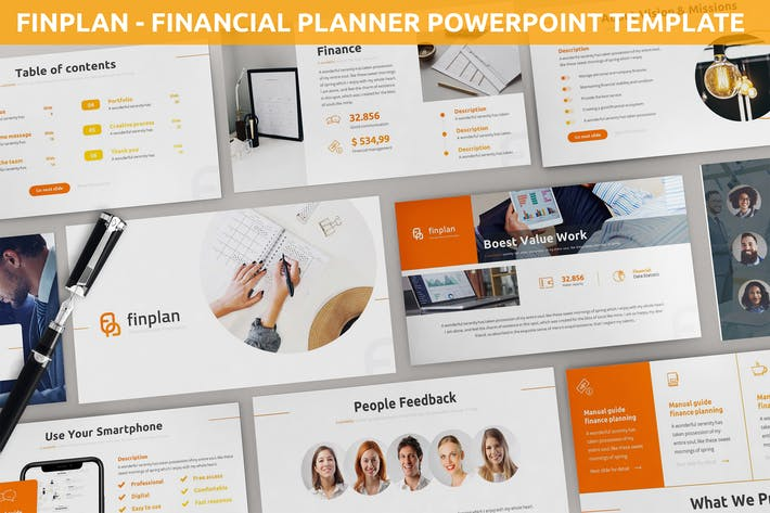 Finplan - Financial Planner Powerpoint Template