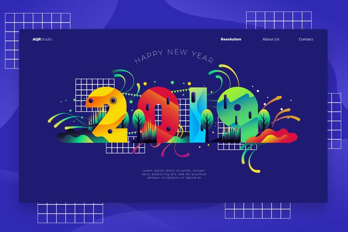 Thumbnail for 2019 - Banner & Landing Page