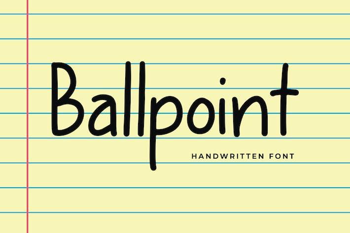 Thumbnail for Fuente de pantalla moderna de bolígrafo