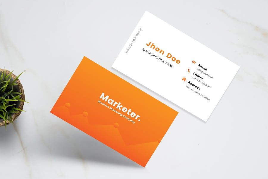 Marketer Business Card