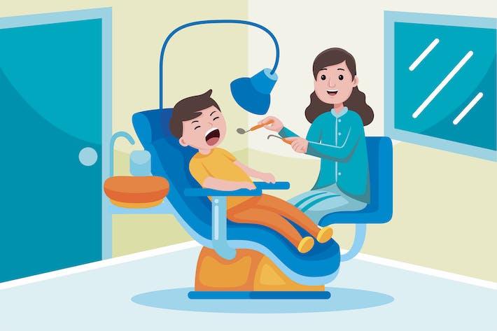 Beruf des Zahnarztes