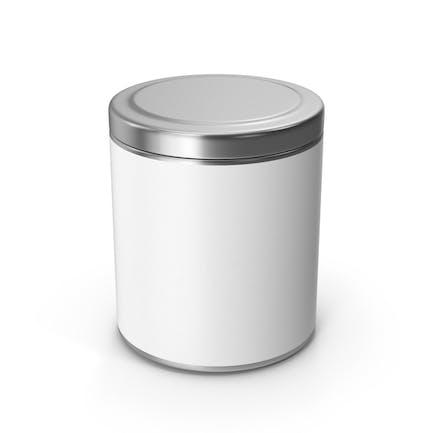 Tarro de metal de cocina