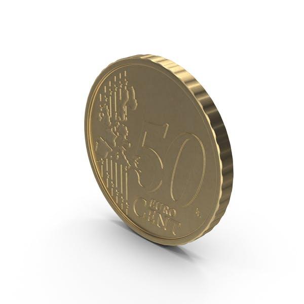 Spain Euro Coin 50 Cent