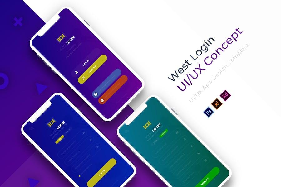 West Login   App Template