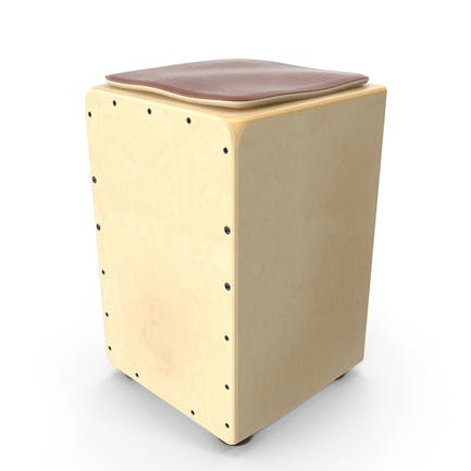 Traditional String Cajon Drum with Seat Pad