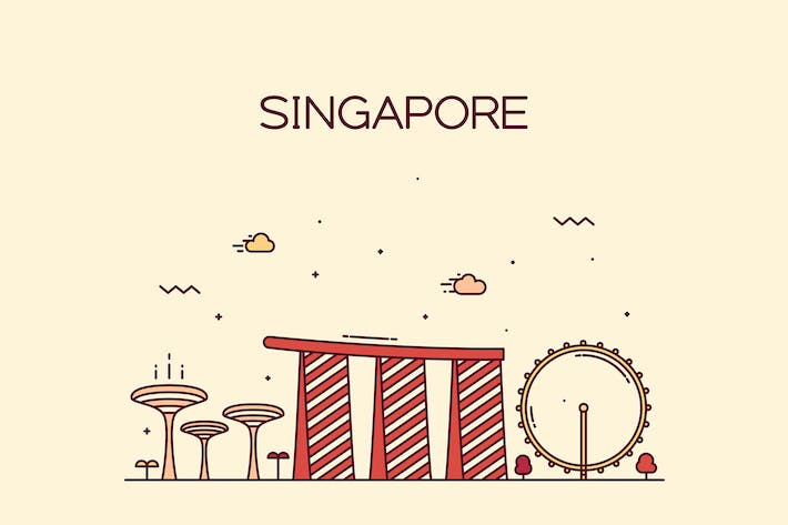 Thumbnail for Singapore skyline