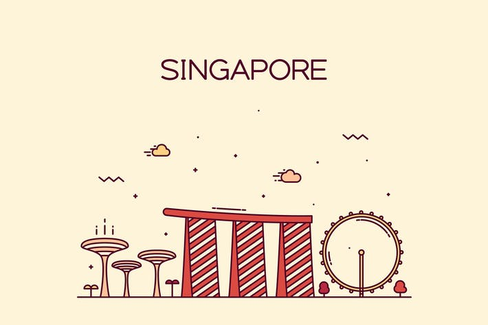 Thumbnail for Skyline de Singapur