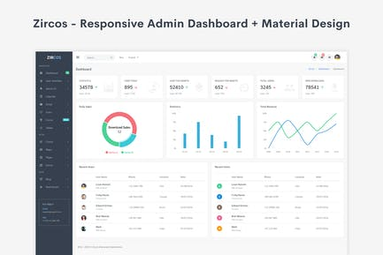 Adminox - Responsive Admin Dashboard & Frontend by coderthemes on