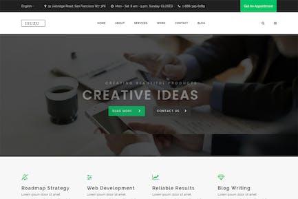 Isuzu - Creative HTML Template
