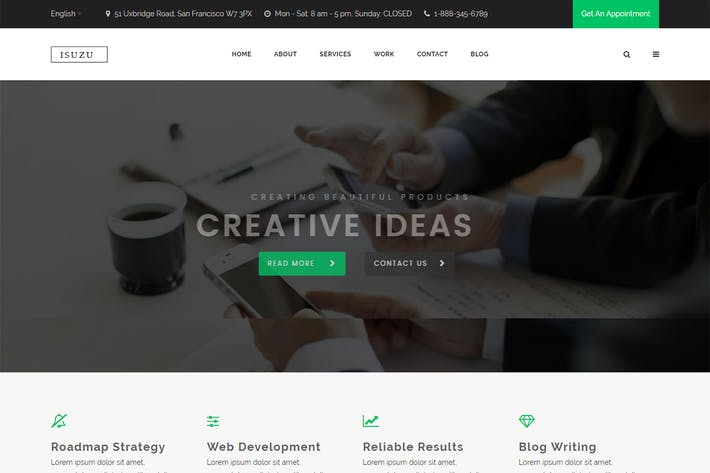 Download Website Templates Envato Elements - Create web page template