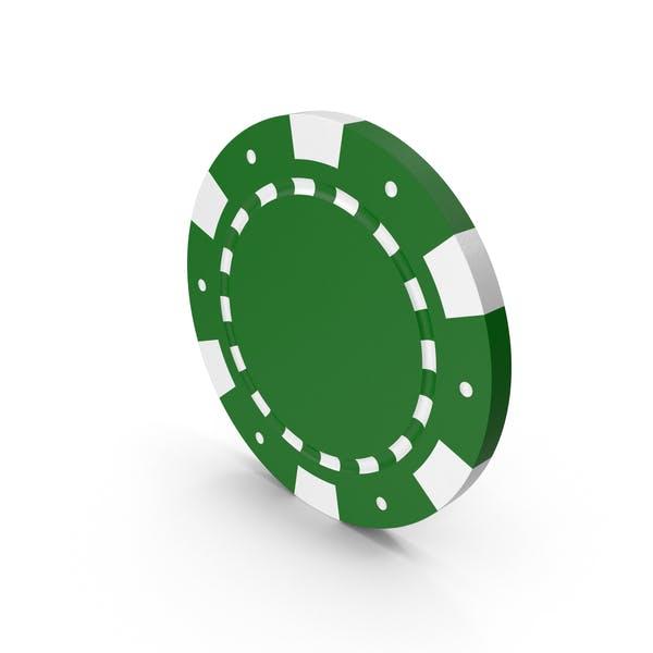 Thumbnail for Зелёный токен Покера