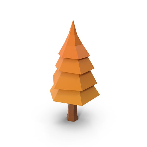 Thumbnail for Low Poly Tree Autumn
