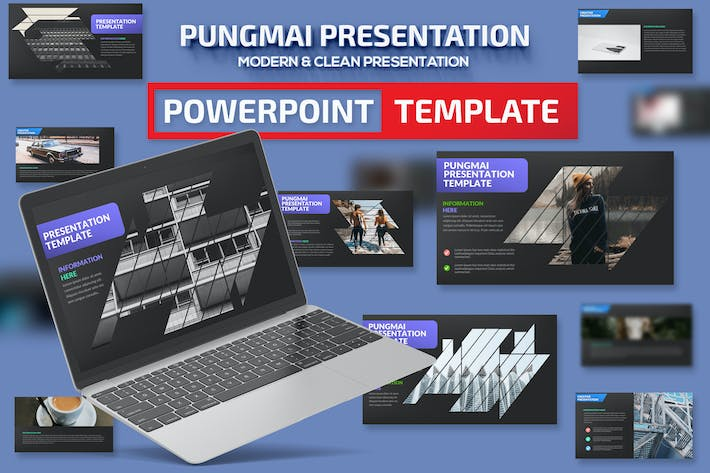 Thumbnail for Pungmai Powerpoint Presentation Template