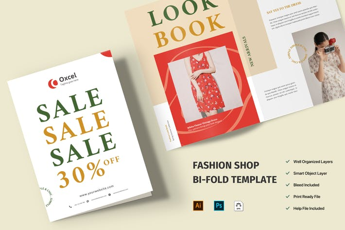 Thumbnail for Fashion Brochure