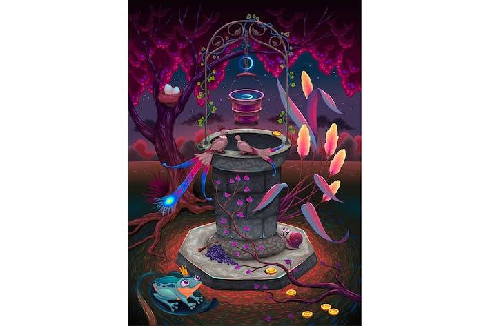 Thumbnail for Желающий Колодец в волшебном саду