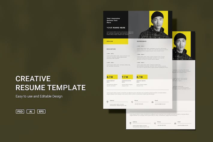Thumbnail for SRTP Resume Template v3.3