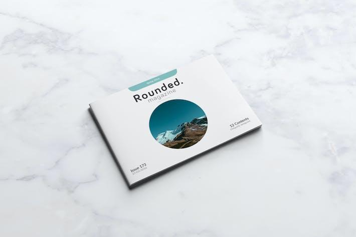 Thumbnail for Rounded Landscape Magazine