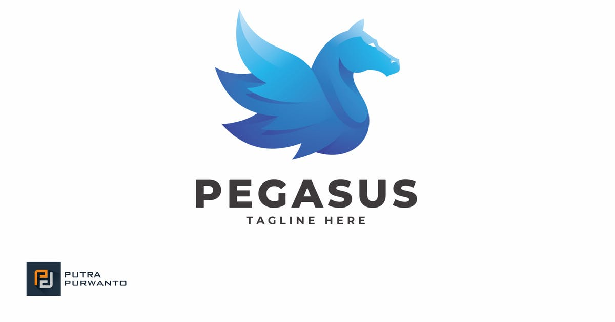 Download Pegasus - Logo Template by putra_purwanto