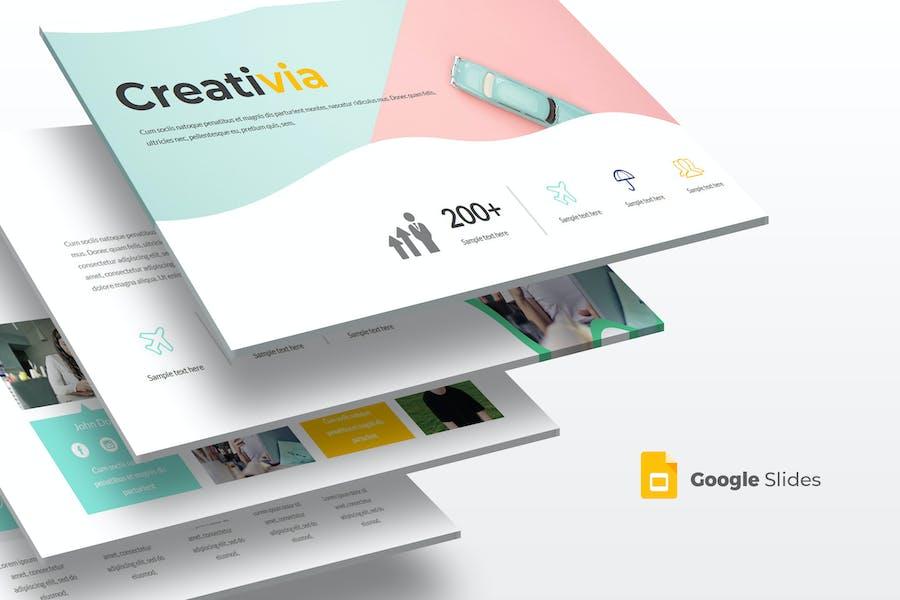 Creativia - Google Slides Template