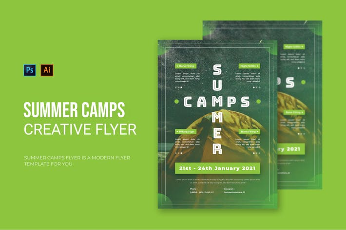 Thumbnail for Summer Camps - Flyer