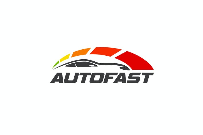 Autofast - Car and Automotive Logo