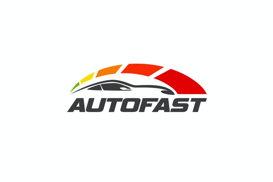Autofast - Car and Automotive Logo