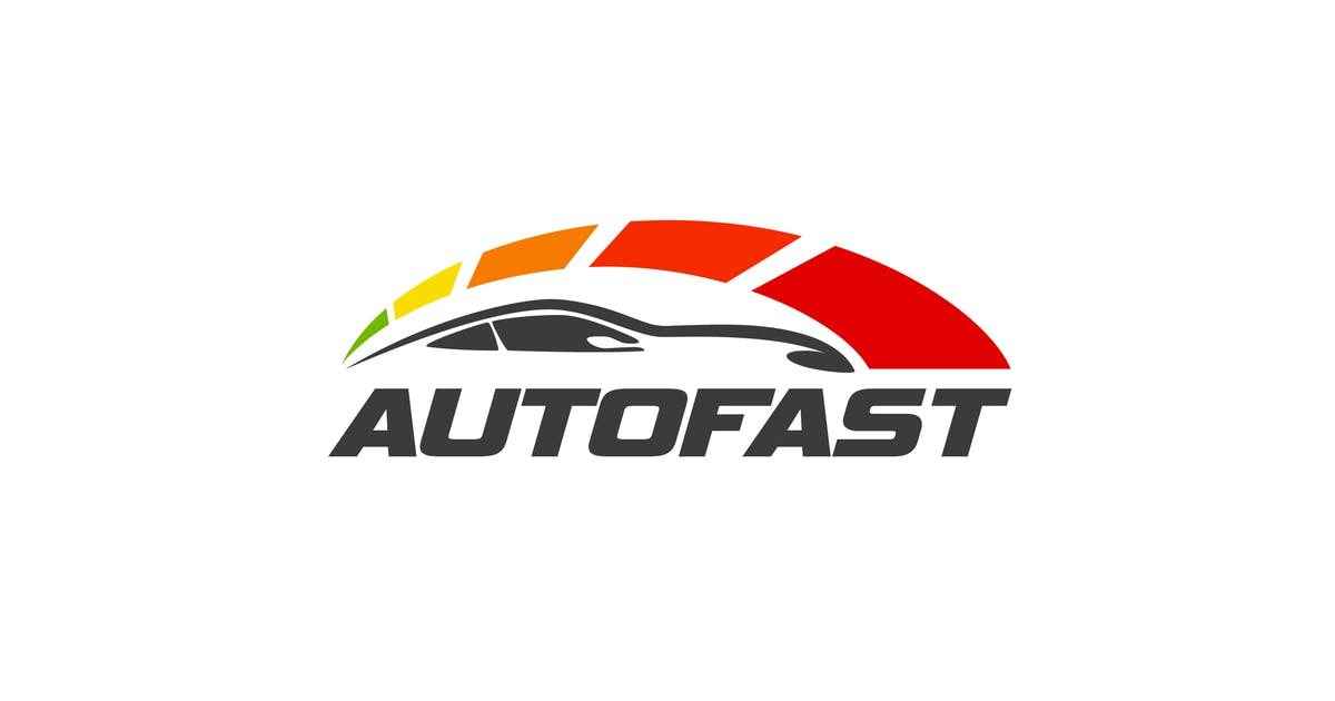 Download Autofast - Car and Automotive Logo by Suhandi
