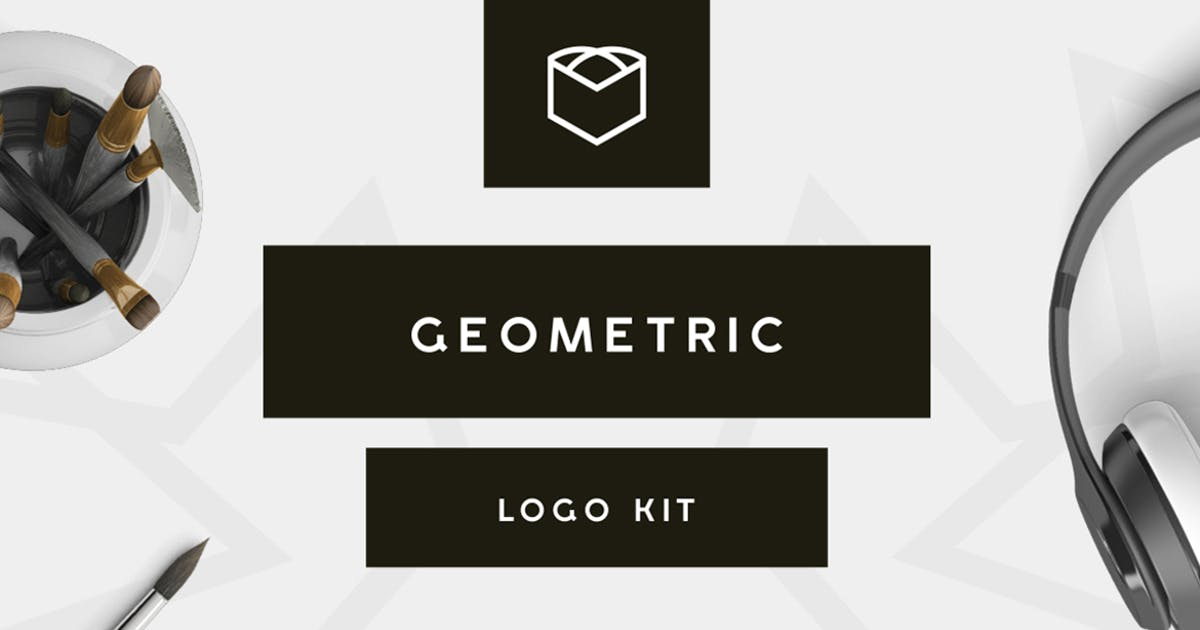Download Geometric Logo Kit by designdistrictmx