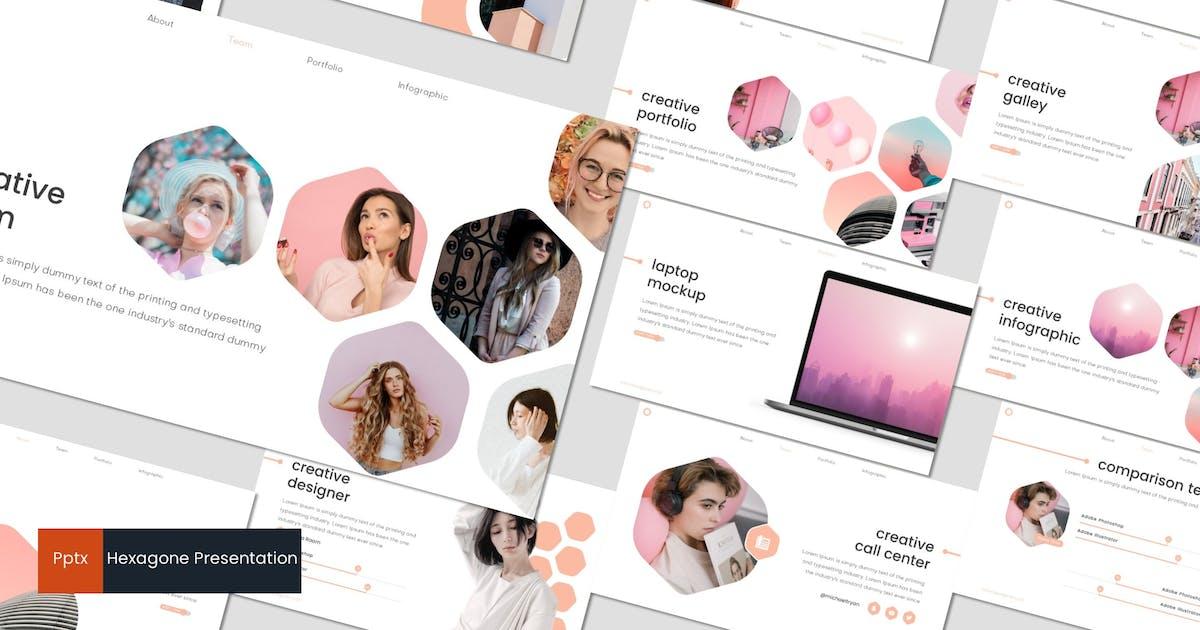 Download Hexagone - Powerpoint Template by inspirasign
